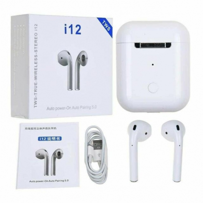 Наушники Bluetooth Airpods  i12-tws