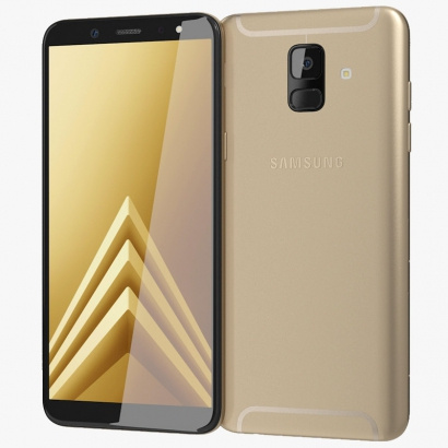 Samsung a605 A6 plus gold