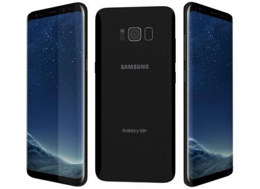 Samsung g955fd Galaxy S8 plus duos Midnight Black