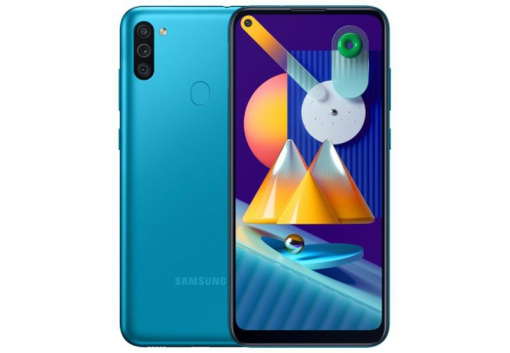 Samsung M11 blue